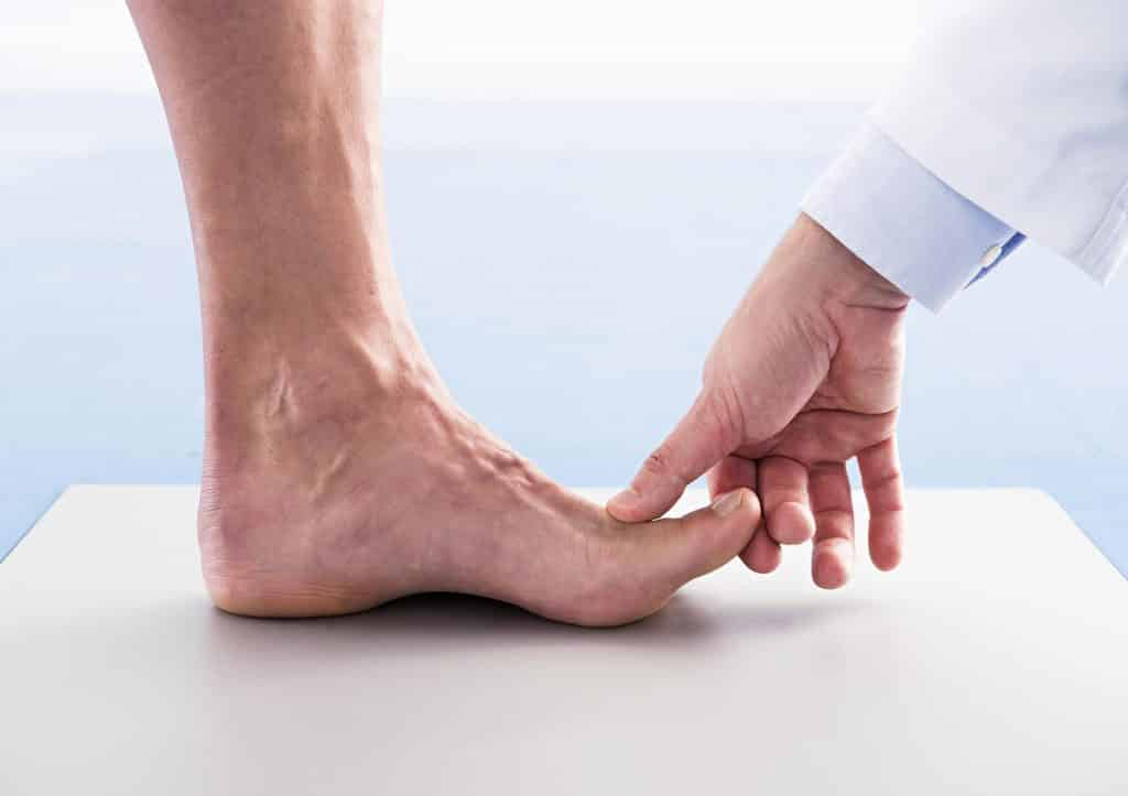 plantilla de pies