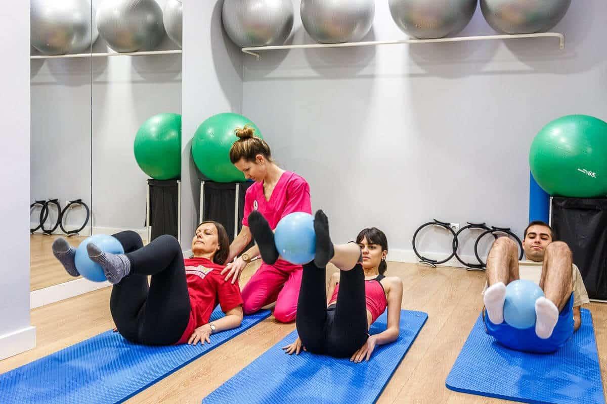 monitora de pilates